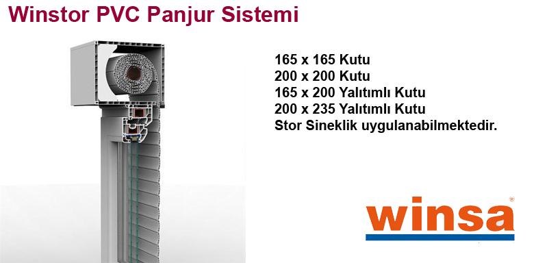 Winstor PVC Panjur Sistemi